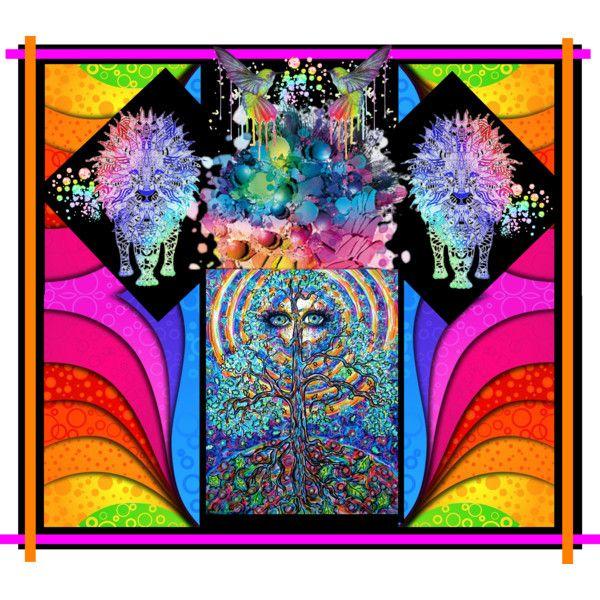 """Colour me up..."" by kiki-parker on Polyvore"
