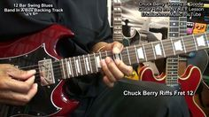 How To Play Chuck Berry Guitar Riffs IN ANY KEY & With Any Backing Track...