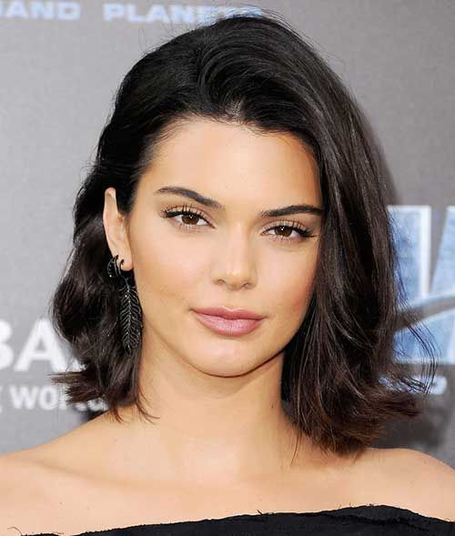 Latest Celebrity Short Hairstyles: #1. Kendall Jenner
