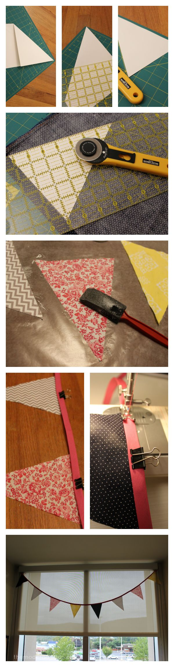 DIY: Fabric Bunting
