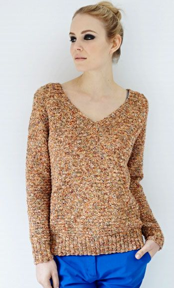 15 Best Easy Sweater Knitting Patterns For Beginners Images On
