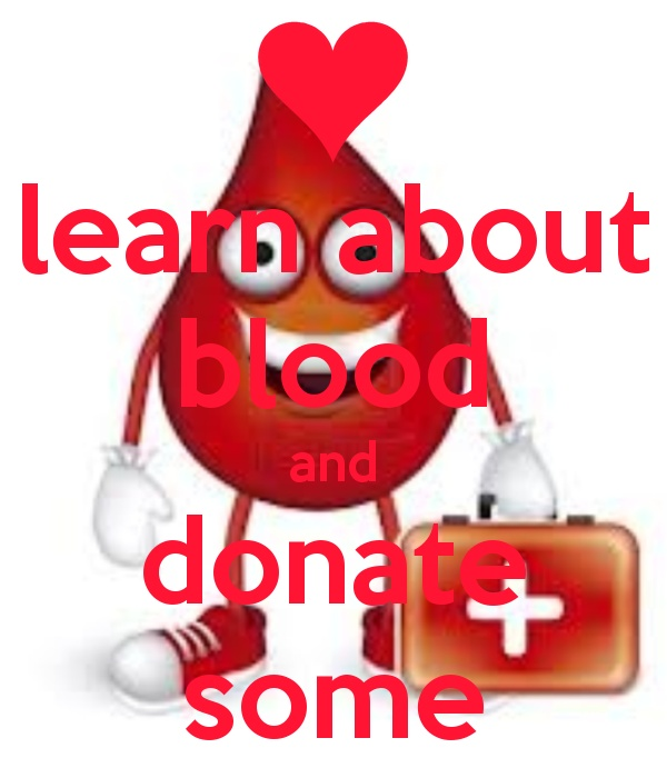 001 learn about blood and donate some Creative Keep Calm
