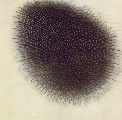 "s-c-r-a-p-b-o-o-k:    Günther Uecker - ""Igel"" 