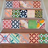 Stairs Kitchen Backsplash or Bathroom (15 Tiles Decals) Tile Stickers by Web Roots, Lda made by Moonwallstickers. 41.90 at BOUF