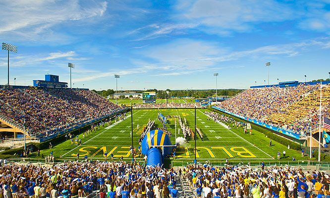 Delaware Stadium, University of Delaware, Newark, DE.