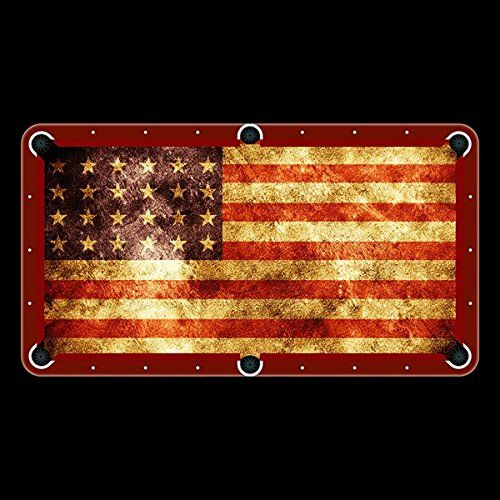 American Flag Billiard Cloth 8ft Pool Table Felt Unique Textile Printing http://www.amazon.com/dp/B00NO4L9R2/ref=cm_sw_r_pi_dp_Xn0.ub0WNXF3G