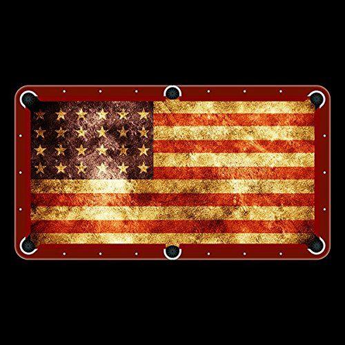American Flag Billiard Cloth 8ft Pool Table Felt Unique Textile Printing http://www.amazon.com/dp/B00NO4L9R2/ref=cm_sw_r_pi_dp_Xn0.ub0WNXF3G