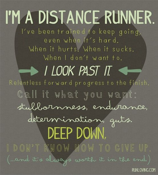 25+ Best Distance Running Quotes On Pinterest