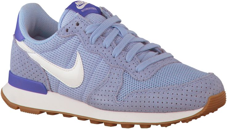 Paarse Nike Sneakers INTERNATIONALIST DAMES