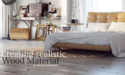 Creating realistic Wood Material by Ramon Zancanaro