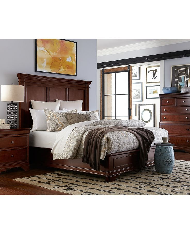 Macys Furniture Showroom: Bond Street Bedroom Collection