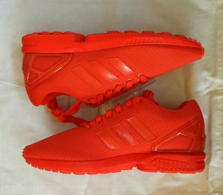 size 40 d90c3 c144b adidas zx flux red orange