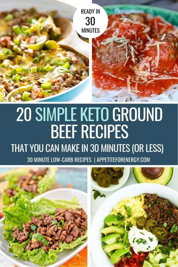 20 Simple Keto Ground Beef Recipes 30 Minutes Max Appetite For Energy In 2020 Beef Recipes Minced Beef Recipes Beef Recipe Low Carb