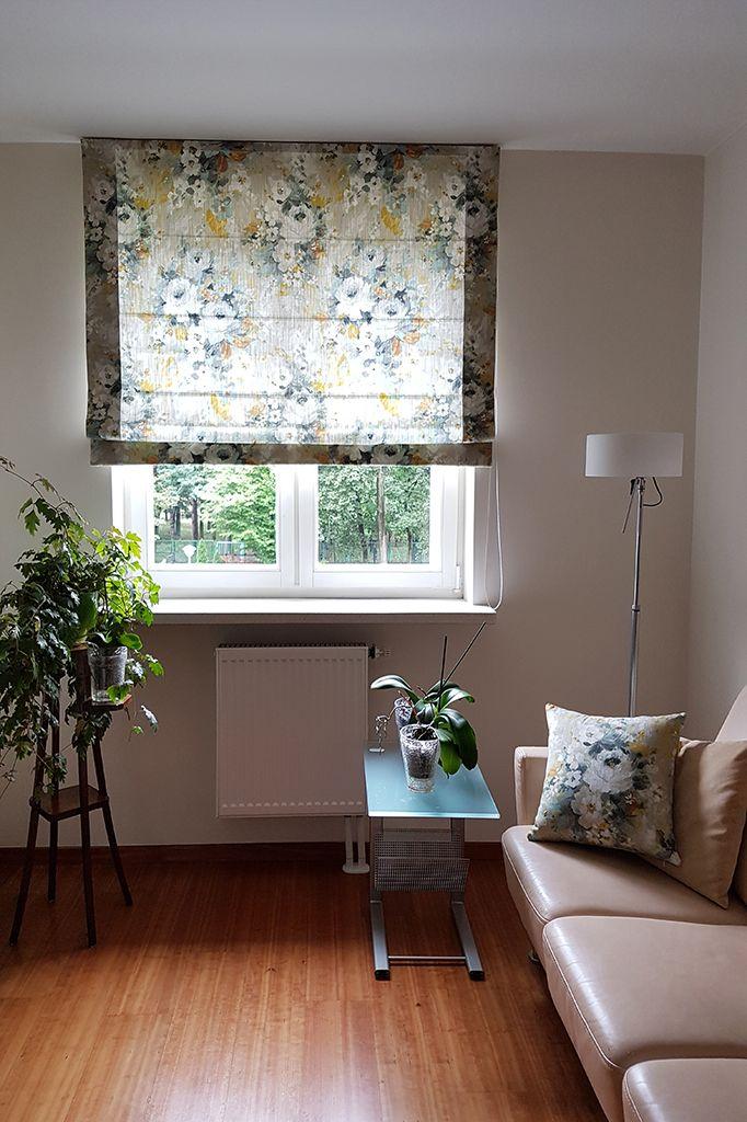 #roleta #roletarzymska #poduszki #kwiaty #tkanina #tkaninydekoracyjne #dekoracje #dekoracjeokienne #aranżacja #szycienazamówienie #szycie #szycienamiare #projekt #okna #wnetrza #projektowaniewnetrz #projektowanie #styl #warszawa #blinds #romanblinds #pillows #interior #interiordesign #window #fabric #home #homedecor