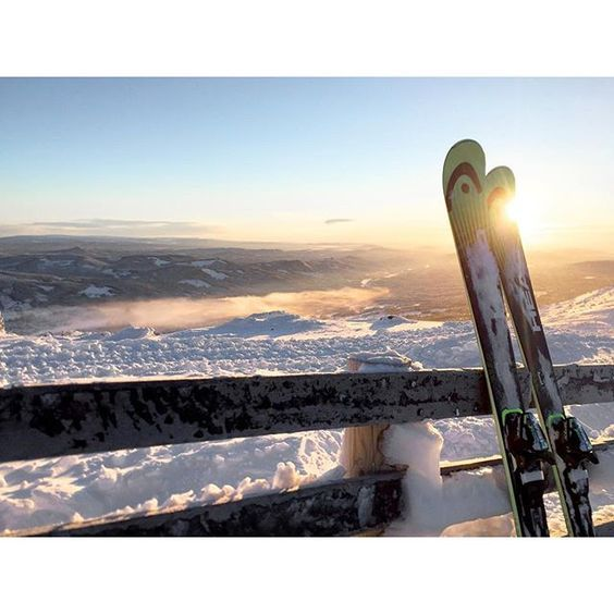 Epic #skiing photo from the Radisson Blu Resort. #Trysil by IG @eircagl