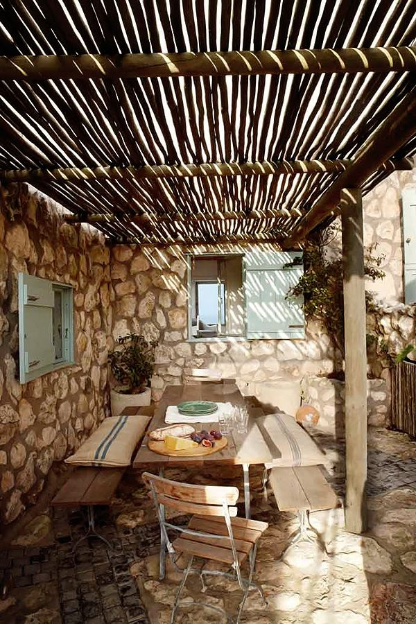 Outdoor dining area | Nicety Deco