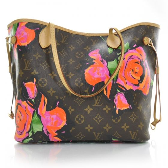 LOUIS VUITTON Stephen Sprouse Roses Neverfull MM.   Of course...