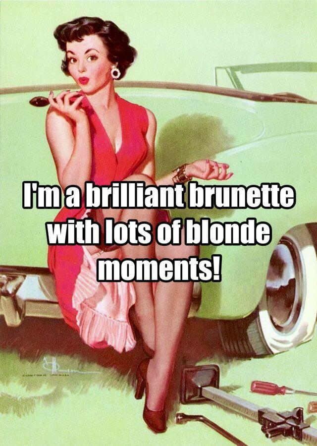 Brilliant Brunette Commercial 81