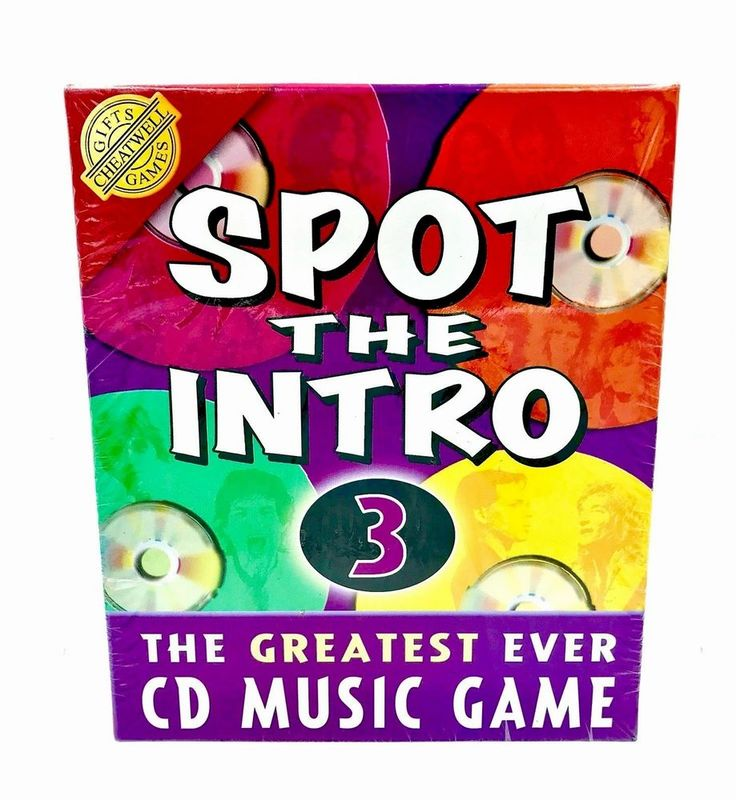 Game Spot The Intro 3 Music Quiz with Audio CD by Cheatwell Games party holidays