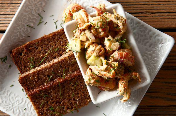 Swedish Crayfish Salad