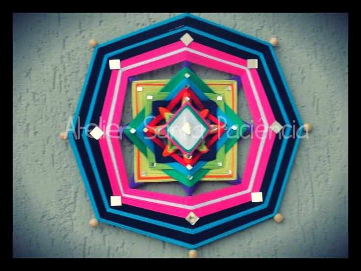 Mandala Alana - Ref: MLA 09 - Alana: Origem incerta. Alguns defendem que é derivado do céltico, significa paz e harmonia.