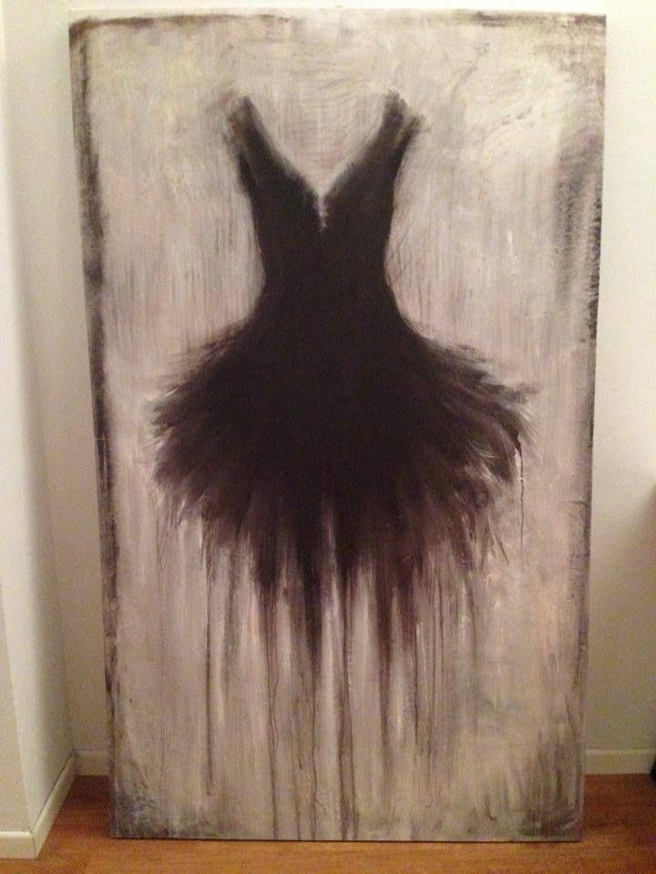 Tutù Firenze Rita Pedullà, olio su tela www.ritapedulla.it #tutu #dance #ballerina #black #oiloncanvas #canvas #home #painting #art #ritapedullà