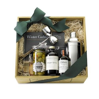 Artisanal Cocktail Gift Set #williamssonomaI hope Santa puts this under my tree..BC I love the package