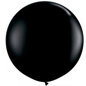 Büyük balon, jumbo balon, siyah balon, doğum günü partisi, parti malzemeleri, doğum günü süslemeleri, doğum günü kutlaması,
