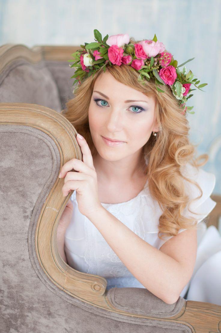 flower crown www.flower-berry.ru instagram @_flowerberry_