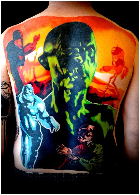 Zombie tattoo designs the zombie boy tattoo designs and for Cool check designs