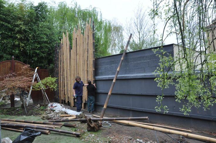 17 Meilleures Id Es Propos De Palissade Jardin Sur Pinterest Palissade Bambou Brise Vue Et