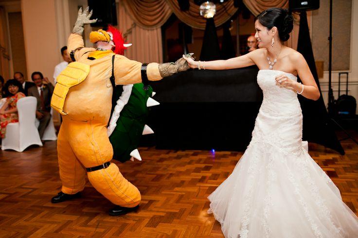 Super Mario Bros wedding inspiration mario super mario