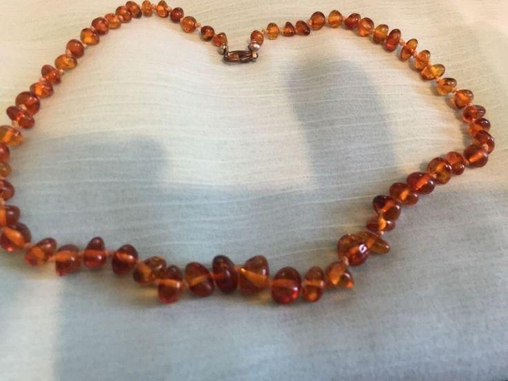 Vintage Honey/Cognac Amber Necklace