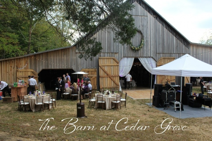 Barn Wedding Reception | The Barn at Cedar Grove in KY # ...