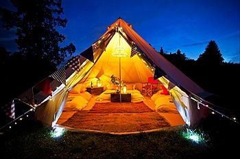 Fantastic canvas tents for glamorous camping on eBay! http://accordingtobrian.com/canvas_glamping_tents?=bigtents