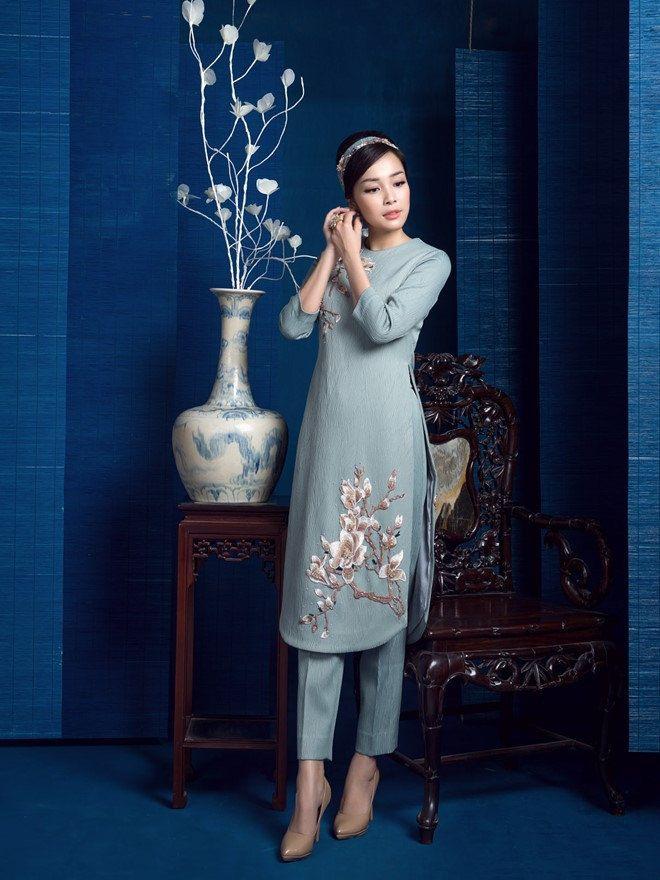 03da2266 Pin by Ha Bui on Ao dai | Áo dài, Quần áo, Thời trang