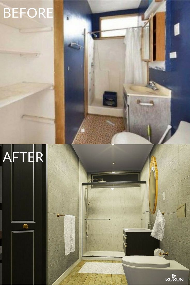 Before And After Bathroom Remodel Bathroom Decor Bathroom Ideas Bathroom Tiles
