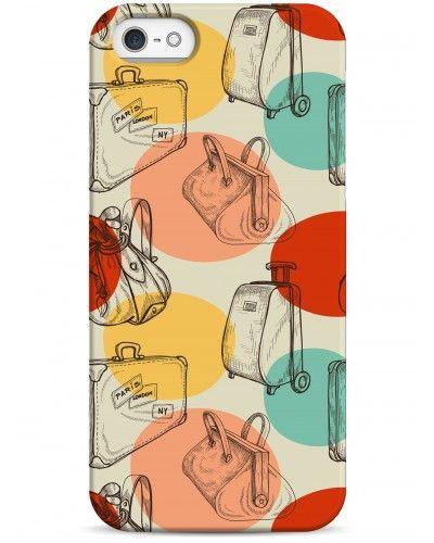 Винтажные чемоданчики - iPhone 5 / 5S / 5C Дизайнерские чехлы для iPhone #чехлы для iPhone