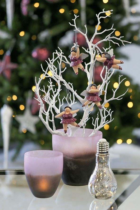 weihnachtliche Dekoration in beere - Foto by Casablanca
