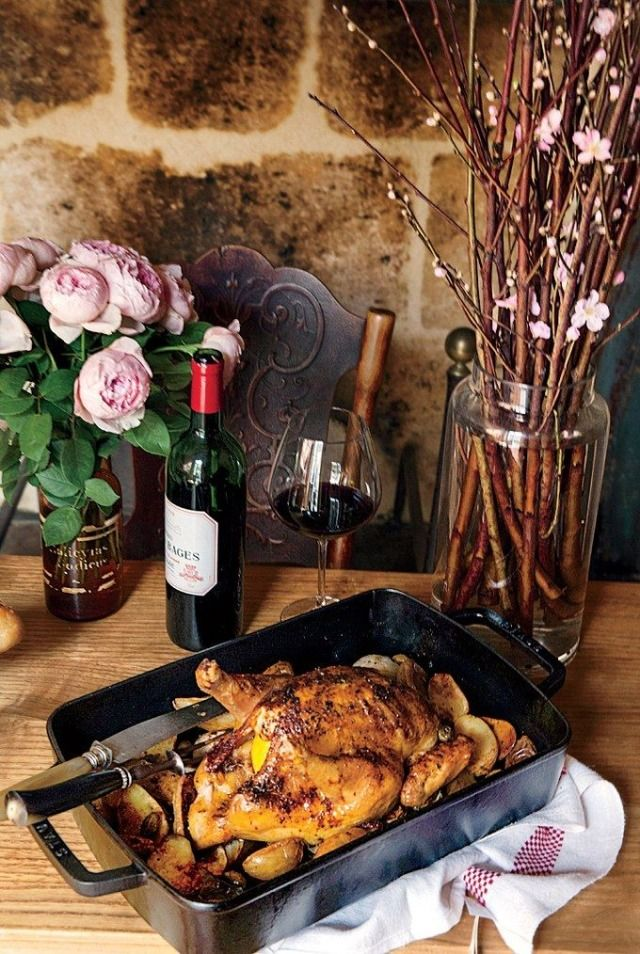 Chicken Dinner Party Ideas Part - 50: Mimi Thorissonu0027s Must-Know Recipes: 3 Dishes Anyone Can Master For Easy  Entertaining. Easy Dinner Party ...