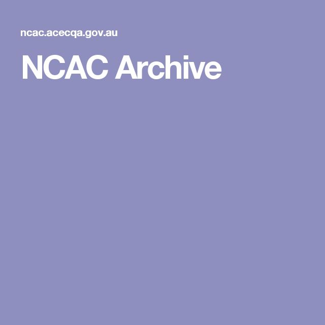 NCAC Archive