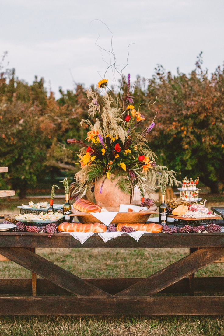 #fall  Photography: Mary Margaret Smith - www.marymargaretsmith.com  Read More: http://www.stylemepretty.com/2014/09/10/alabama-fall-orchard-wedding/