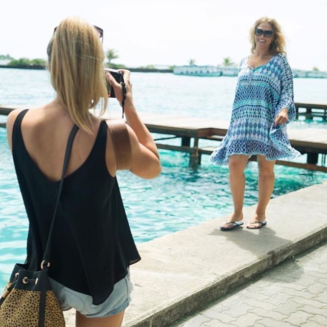 @missboi striking a pose in the Ikat Full Moon Kaftan while on location @clubmedkani being photographed by @wisephotographygc  #jamjam #cotton #kaftan #summer #summerfashion #beachwear #plussize #plussizedresses #sale #shoplocal #shopping #savings #beachside #tropical #boho #summerstyle #brisbane #brisbaneanyday #plussizekaftans #psfashion
