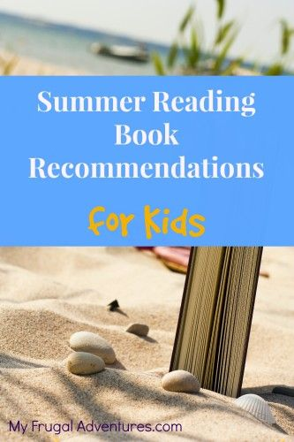 Summer reading lists for children- includes books for pre-k to 6th grade. Save this for summer!