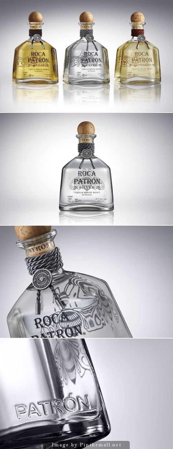 Roca Patrón #packaging by Pearlfisher - http://www.packagingoftheworld.com/2014/11/roca-patron.html