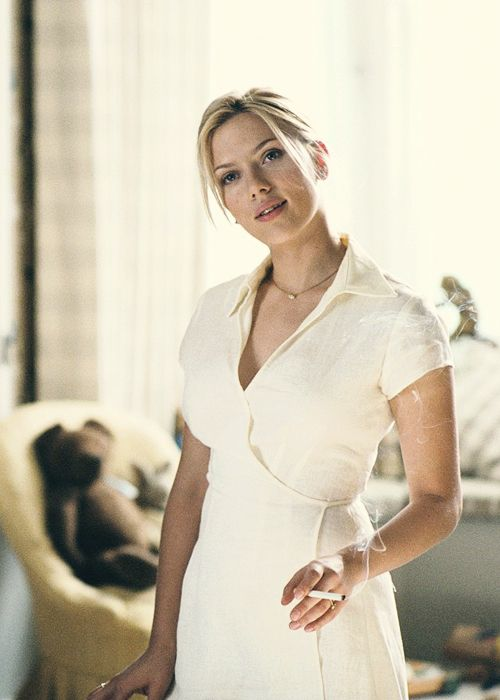 Scarlett Johansson in Match Point  2005  by Woody Allen