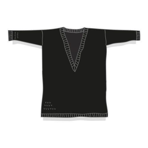 Fiche technique en français permettant de tricoter Jean - Paul, pull entièrement en jersey avec finitions bords côtes, avec explications détaillées et schéma pour les dimensions.Niveau de tricot débutante avancée ou intermédiaire, certaines parties se tricotent en circulaire.Tailles proposées : XS - S - (M/L) - XLFil proposé : coton Natura XL DMC (équivalent métrage : 750 - 750 - 825 - 900m)Aiguilles à tricoter n°5.5 et 8Echantillon en jersey, aigu...