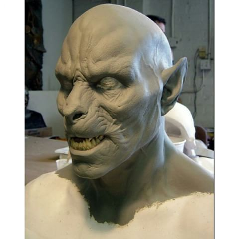 Lycan mid transformation sculpted makeup appliance for the film Underworld Evolution (2006)... anyone know who sculpted this ? #wolfman #werewolf #lycan #wolf #FxMakeup #underworld #evolution #vampire #moon #monster #horror