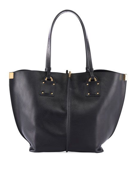 Vick Wide Leather Tote Bag By Chloe At Neiman Marcus