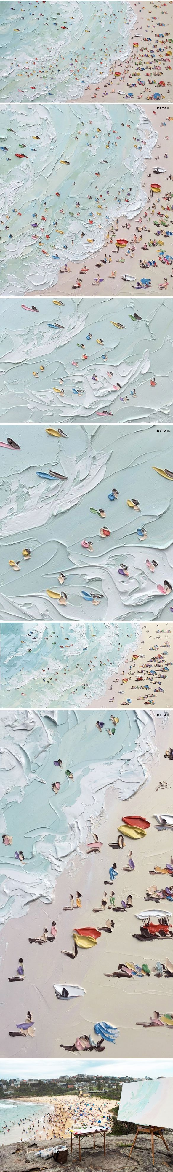 Stunning paintings by Sally West.